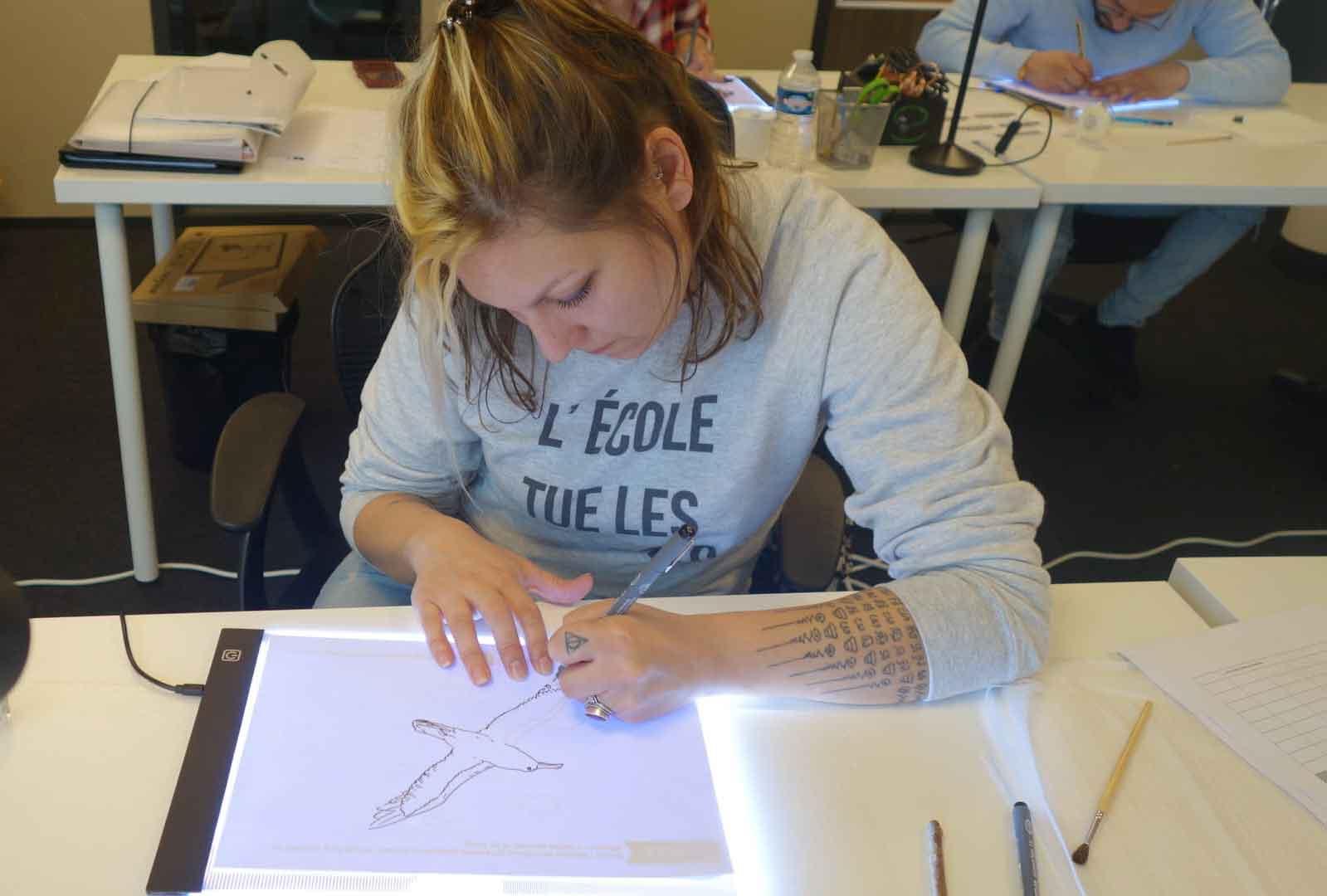Bases-du-dessin-Castle-Tattoo-Academy