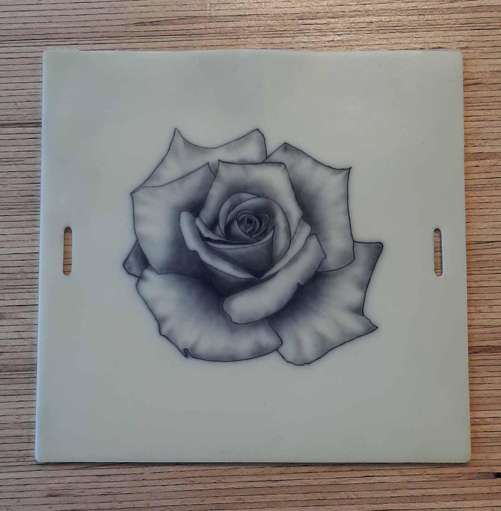 Rose pratique tatouage CTA