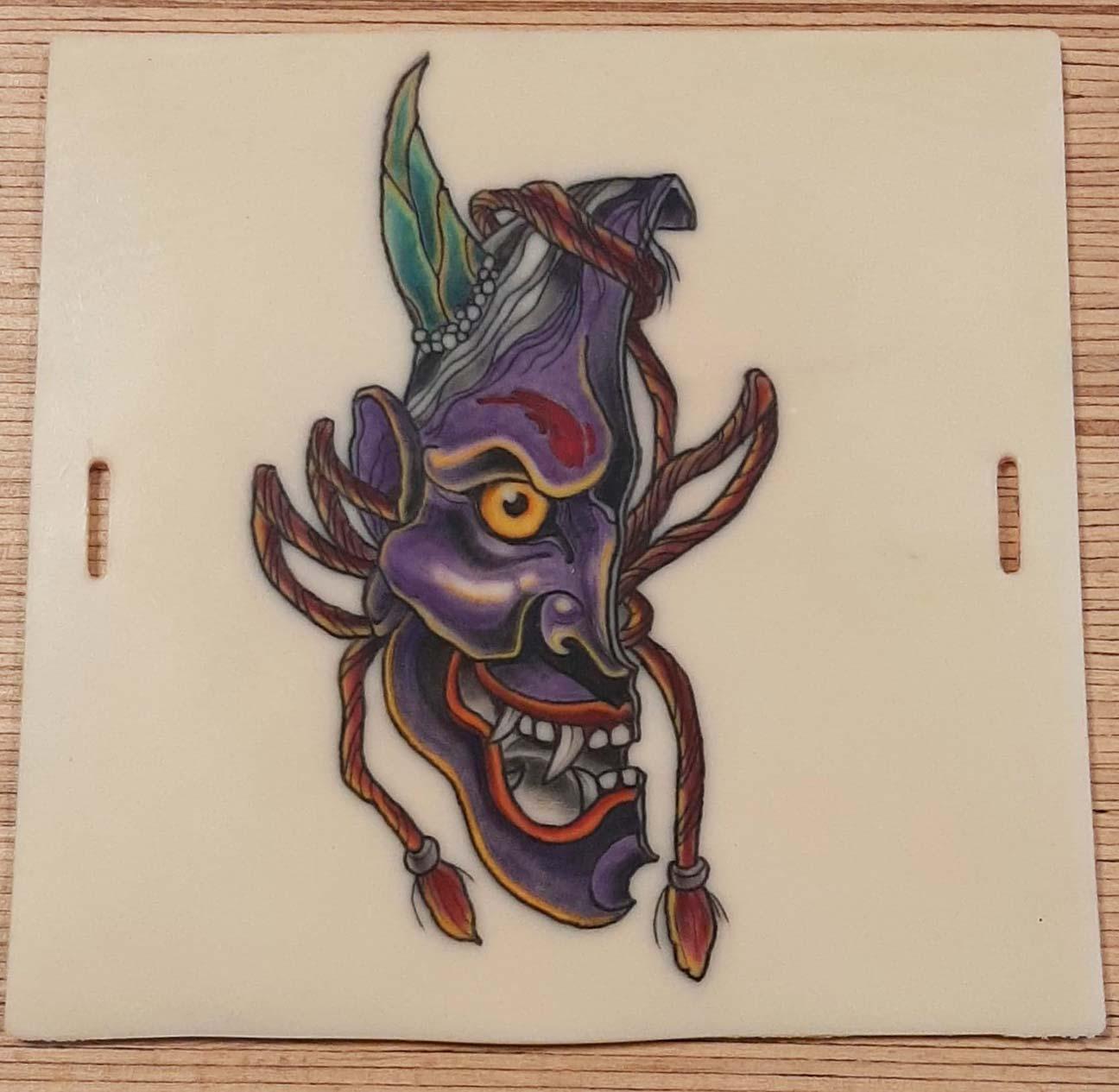 Apprentissage couleur tattoo CTA
