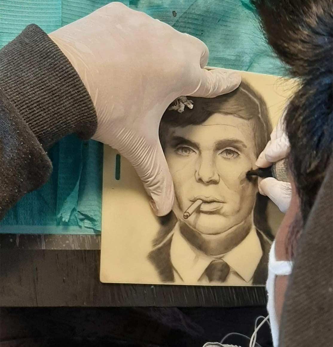 Apprentissage tattoo realisme portrait CTA