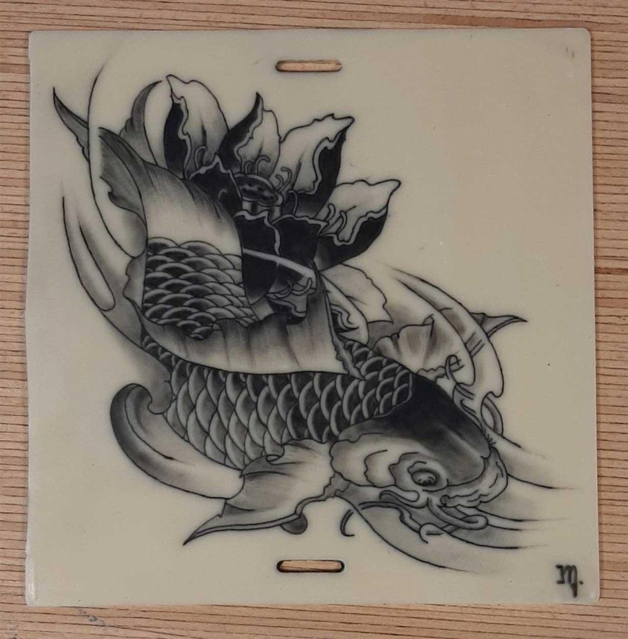 Pratique tattoo japonais CTA